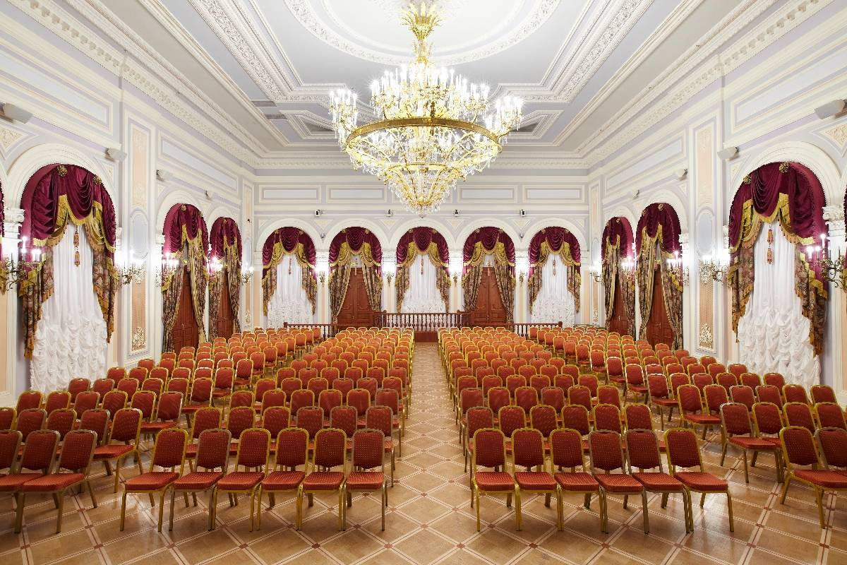 Banquet Hall In St Petersburg Ballroom For Banquetes