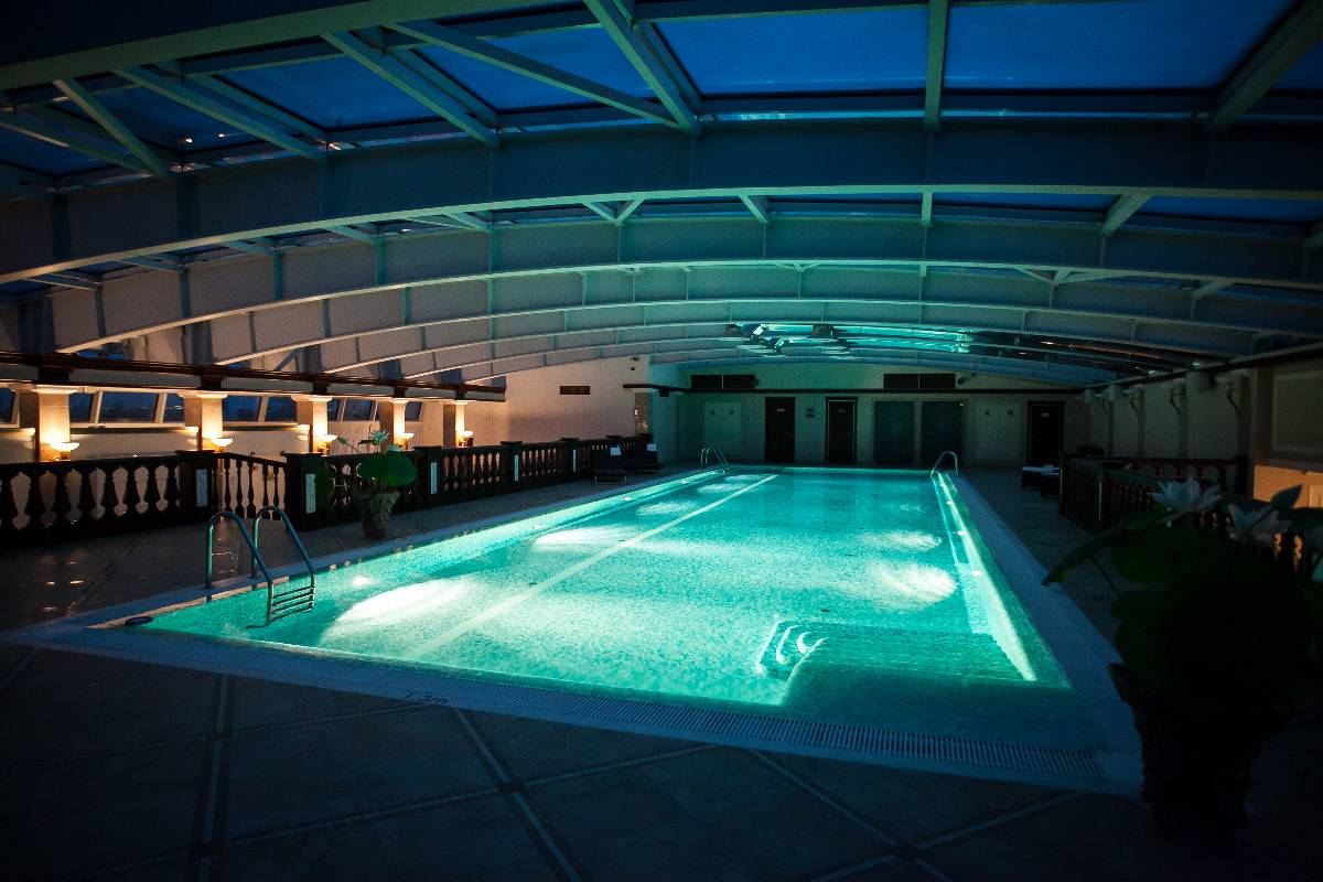 Spa Swimming Pool In St Petersburg Luxury Hotel On Nevsky Prospect