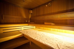 Finnish sauna in Taleon Spa