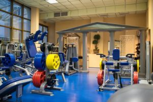 Equipment in Taleon Fitness centre