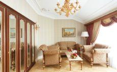 Superior Suite seating area
