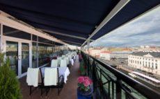Victoria restaurant - Summer terrace Taleon Imperial Hotel